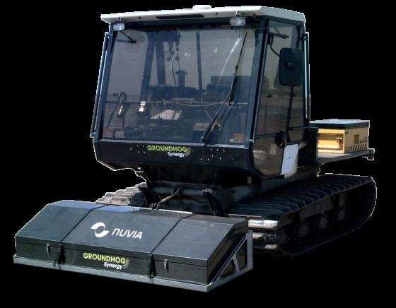 Ground contamination mapping vehicle Groundhog V