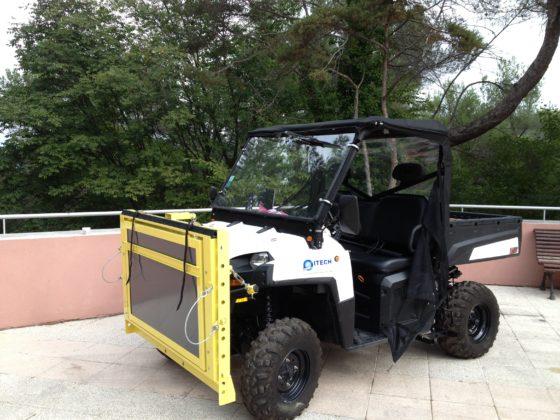 Ground contamination mapping vehicle Groundhog P