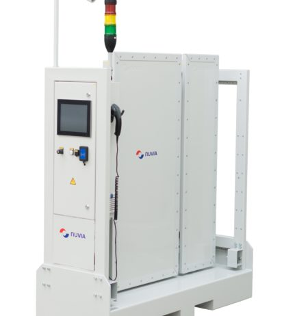 NuHLS PORTAL V Radiation Portal Monitoring System For Vehicles - Airport _ 1