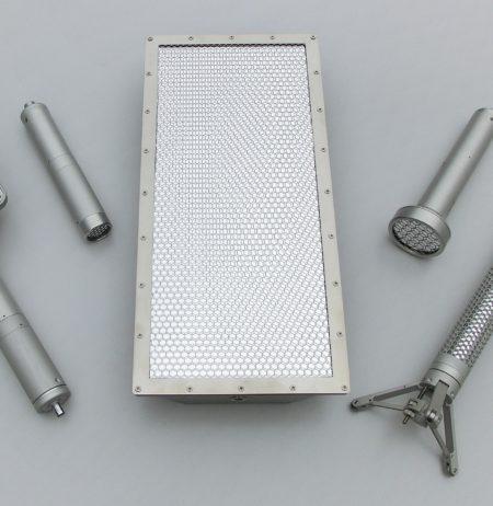 Parts of the NuHp CoMo Detectors