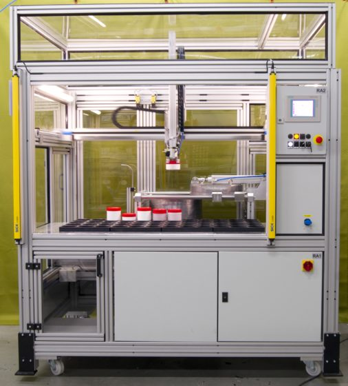 An automatic sample changer for high resolution gamma spectrometry