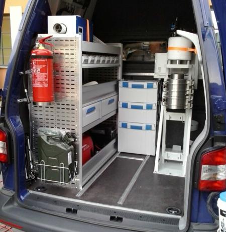 NuLAB MORA VAN Mobile Radiometric Laboratory