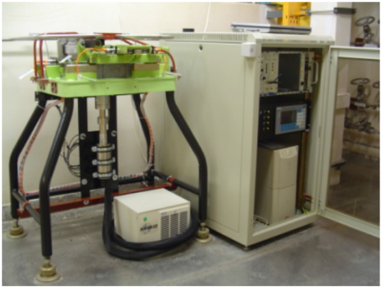 A gamma spectroscopy system for monitoring of the primary coolant