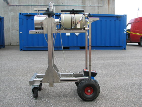 NuWM GAMS 1 Mobile In-situ Gamma Spectroscopy Measuring System