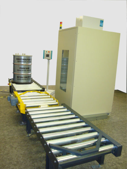 A fully automated waste assay system