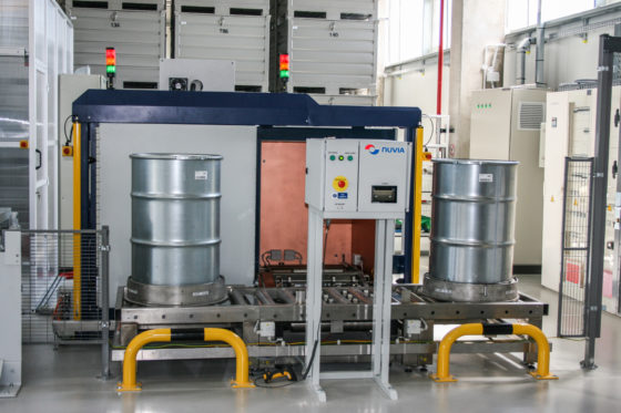 A fully automated low level waste assay system