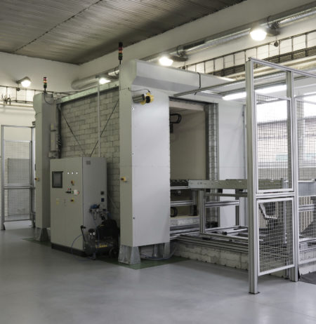 Picture of a NuWM MUM - Fully automated low level waste assay system