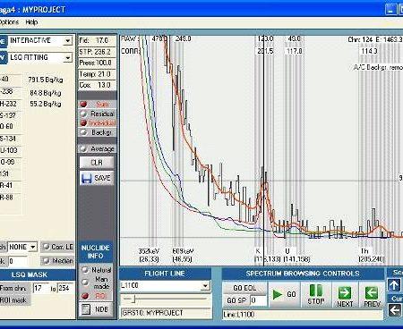 Screenshot of NuSOFT PRAGA software