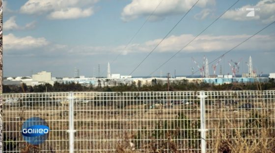 City of Fukushima seen from far away